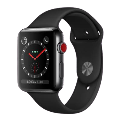 watch series 3 42mm stainless steel gps and cellular